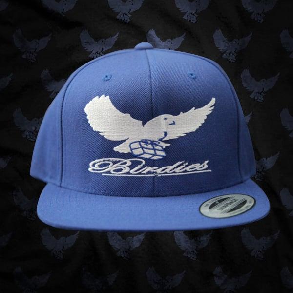 Image of Blue/White Birdies Snapback