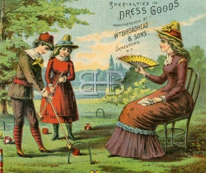 Image of Broadhead Dresses - Jamestown- Croquet