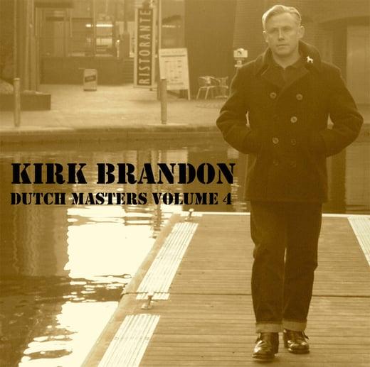 "KIRK BRANDON ""Dutch Masters VOL four "" CD"