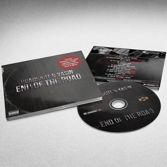 "Image of RoadsArt & Yasin- End Of The Road ""DigiPack CD"""