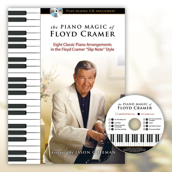 Image of The Piano Magic of Floyd Cramer Songbook and Play-Along CD
