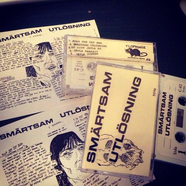 Image of SMÄRTSAM UTLÖSNING - Demo Tape