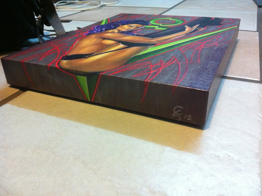 Image of GALLERY WRAP PIN UP PRINT BY CHAD SINKHORN
