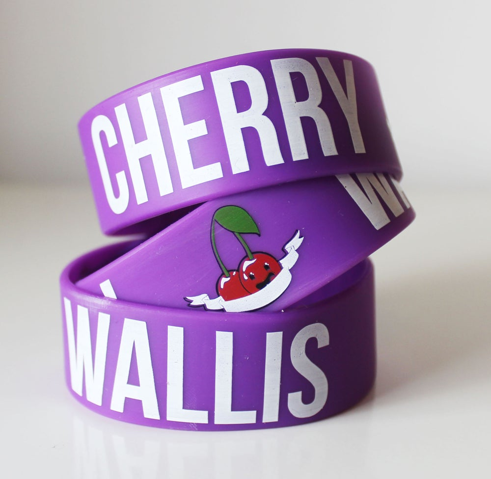 Image of Cherry Wallis Wristband (Purple)