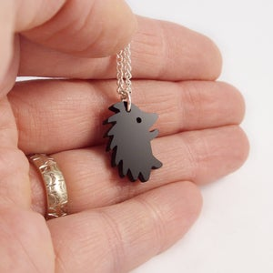 Image of Tiny Hedgehog necklace