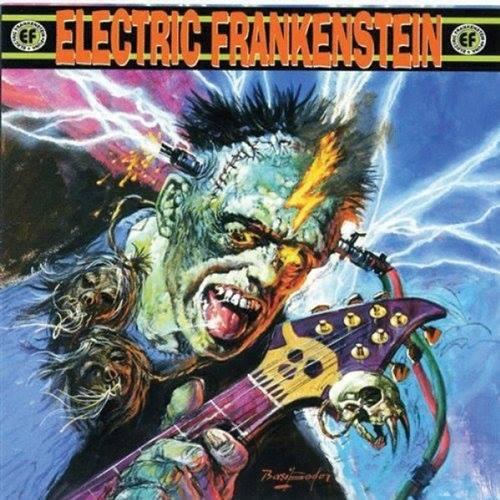 "Image of Electric Frankenstein ""Burn Bright, Burn Fast"""
