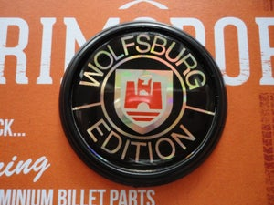 Image of Trimsport Wolfsburg Edition LIMITED EDITION Round Black Badge