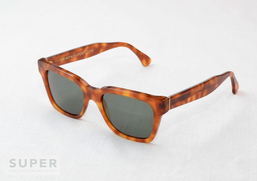 Image of SUPER Sunglasses AMERICA Light Havana BY RETROSUPERFUTURE