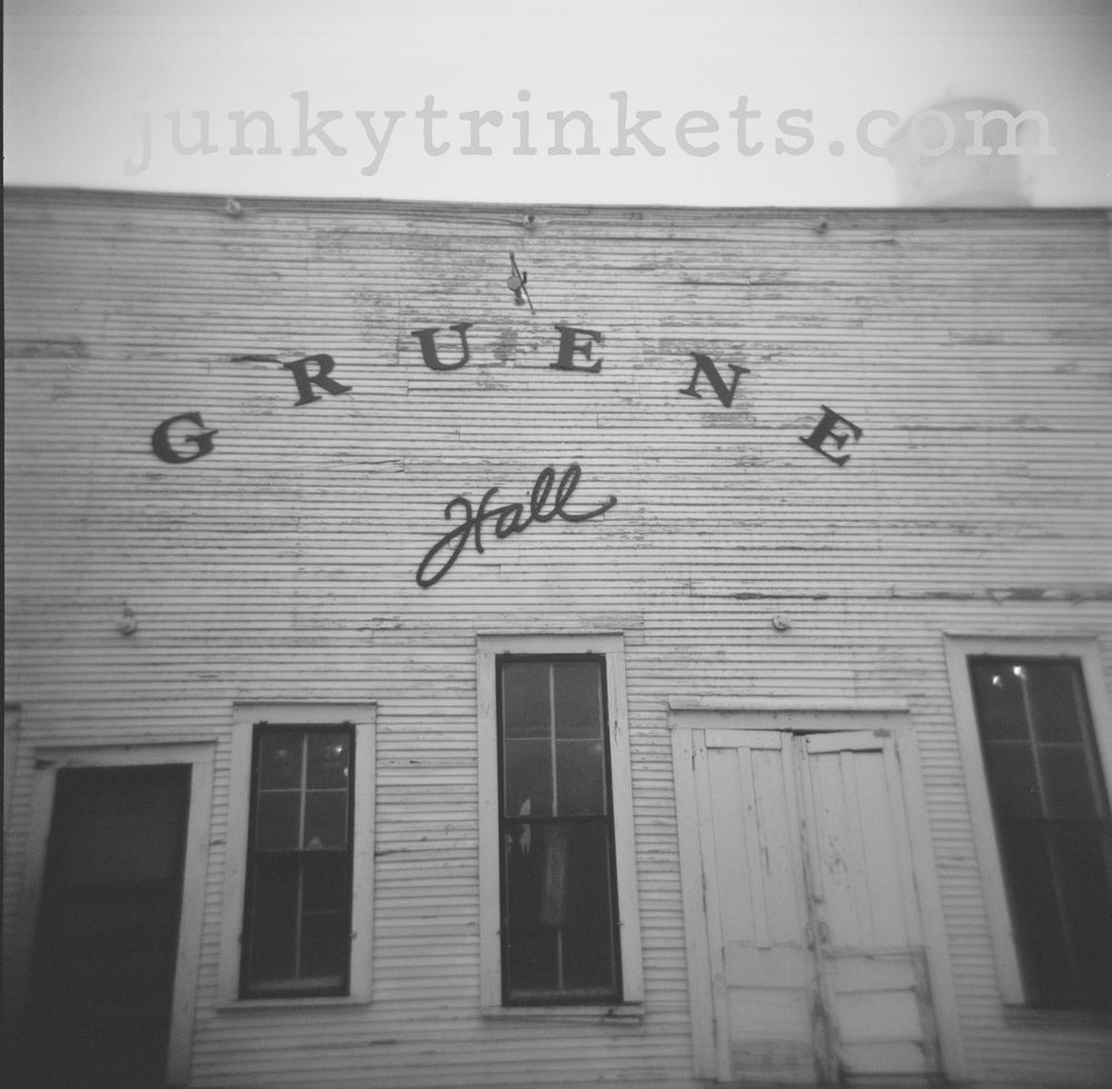 "Image of Gruene Hall - Holga Print 5"" x 5"""