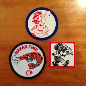 Image of 'Makan Time' Sew on patch