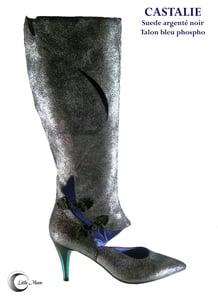 Image of CASTALIE Noir Argenté