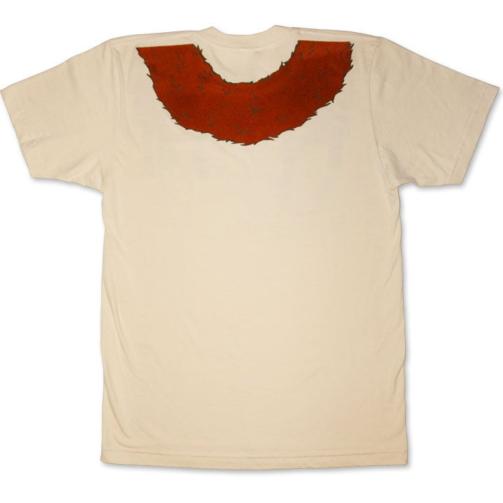 Image of FAUX FOXY - men's créme t-shirt