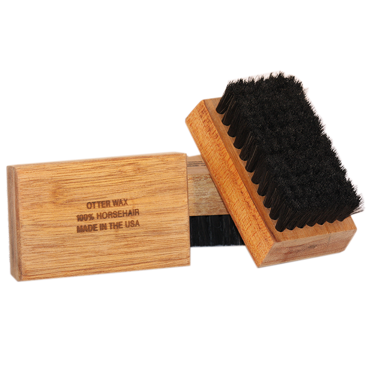 Image of Otter Wax - Horsehair Buffing Block