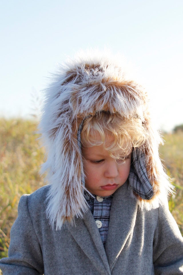 Image of ARCTIC trapper hat pdf pattern (kids)