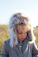 Image 2 of ARCTIC trapper hat pdf pattern (kids)