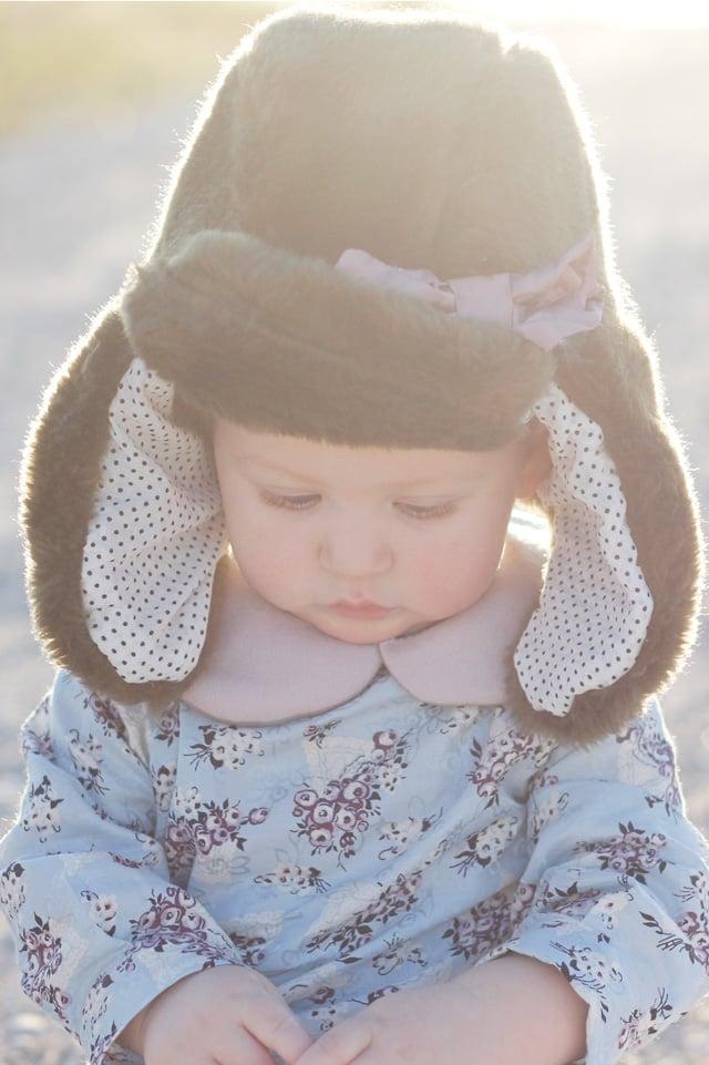 Image of ARCTIC trapper hat pdf pattern (kids)