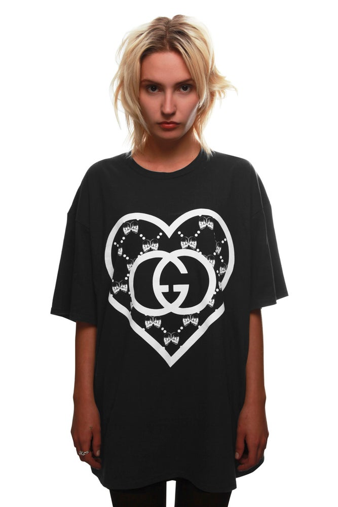 Image of LOVE ORGANIC T-SHIRT BLACK