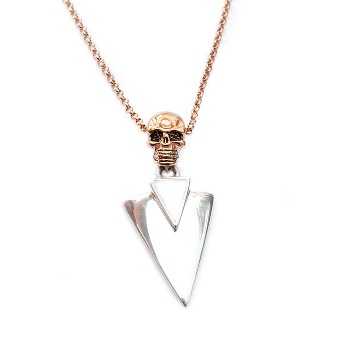 Image of NEW!!! Snow Queen 'Frozen Ghost' necklace