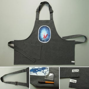 "Image of apron for kids ""Squirrel"""