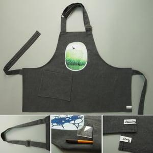 "Image of apron for kids ""Blackbirds"""