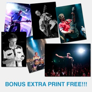 Image of Set of 5 Band Prints + Exclusive Bonus Print