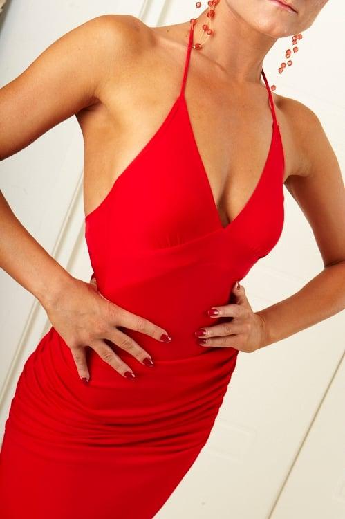 Image of Classic Body RED (H3211) Dancewear latin ballroom