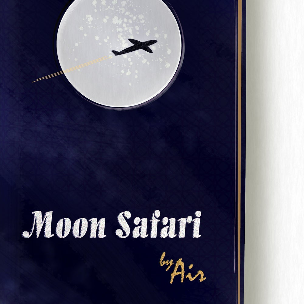 Image of Moon Safari Art Print