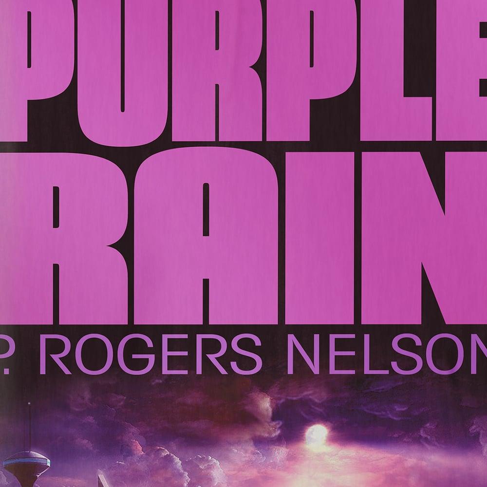 Image of Purple Rain Art Print