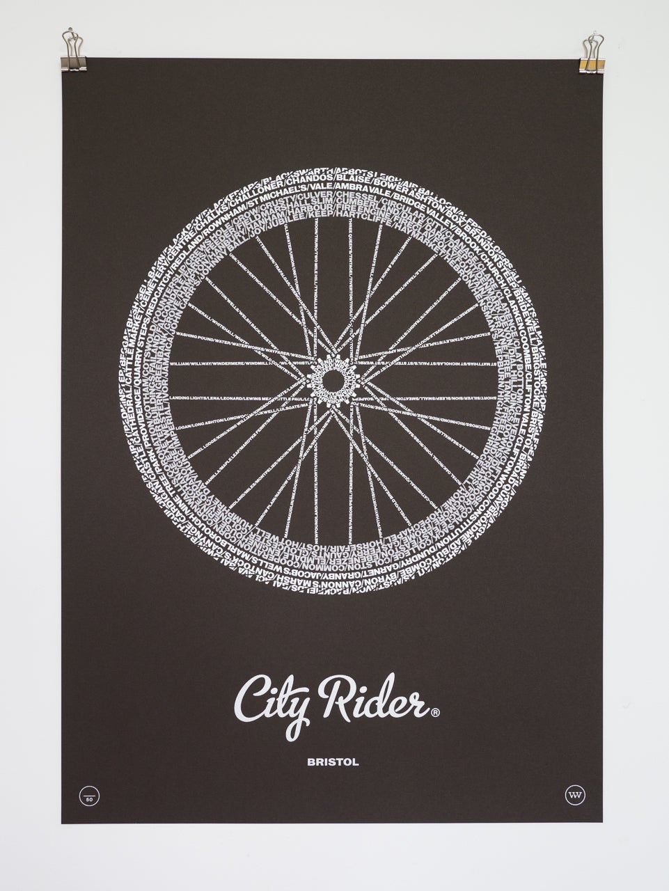 Image of City Rider, Bristol (Bitter Chocolate)