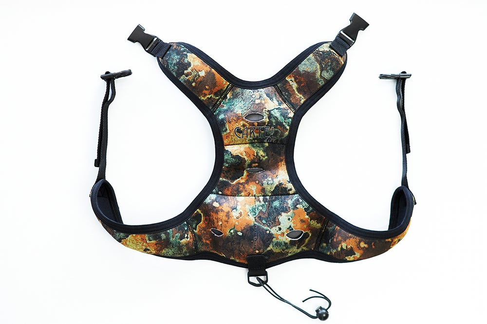 Image of Cartel Dive Quick Release Camo Weight Vest Reduced From $59