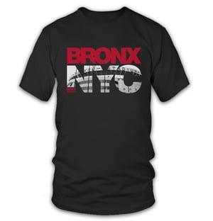 Image of BRONX NYC TEE - BLACK