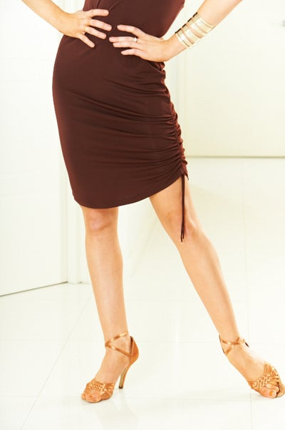 Image of Mini Dress - Black or Chocolate (H5070)