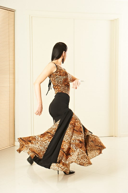 Image of Ballroom Dress - Vicious Kitty (H5983) Dancewear latin ballroom