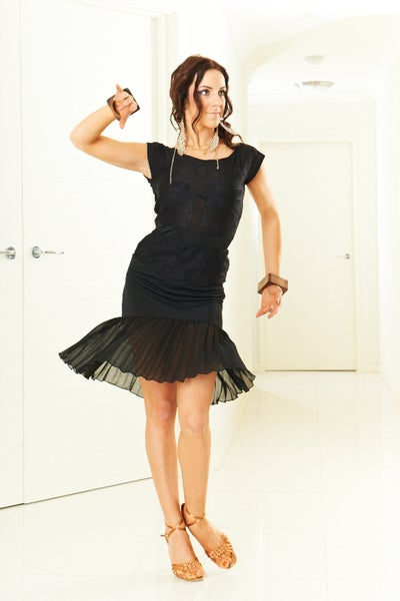 Image of Sassy Pleat Skirt - Lace (J3282)