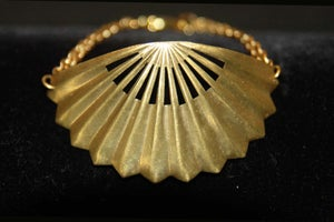 Image of Fan bracelet in brass