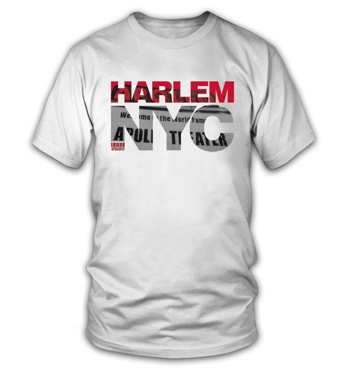 Image of HARLEM NYC TEE - WHITE (LIMITED EDITION)