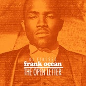 "Image of FRANK OCEAN ""OPEN LETTER"" MIX"