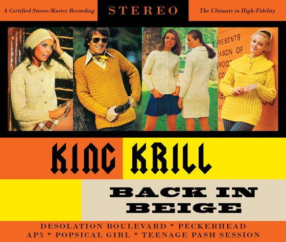 Image of King Krill 'Back In Beige' 5 track E.P. (2013) CD Format