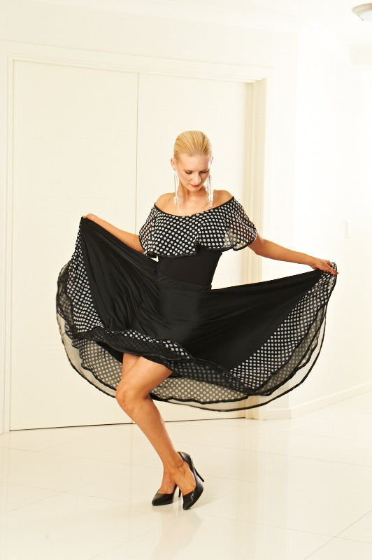 Image of Mood Swing Skirt (J5735A) Dancewear latin ballroom
