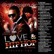 Image of LOVE & HIP HOP MIX VOL. 2 (CHRIS BROWN & LIL WAYNE)