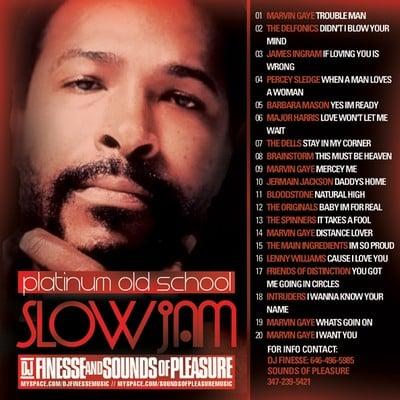 Slow jams 90s cd
