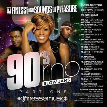 90s R&B SLOW JAMS MIX VOL  1