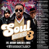Image of SOUL BROTHERS MIX VOL. 3 (DWELE, LYFE JENNINGS, ANTHONY HAMILTON)