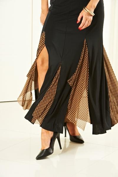 Image of Ballroom Blitz Skirt - Dots (J6164A)