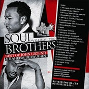 Image of SOUL BROTHERS MIX VOL. 2 (John Legend & Raheem Devaughn)