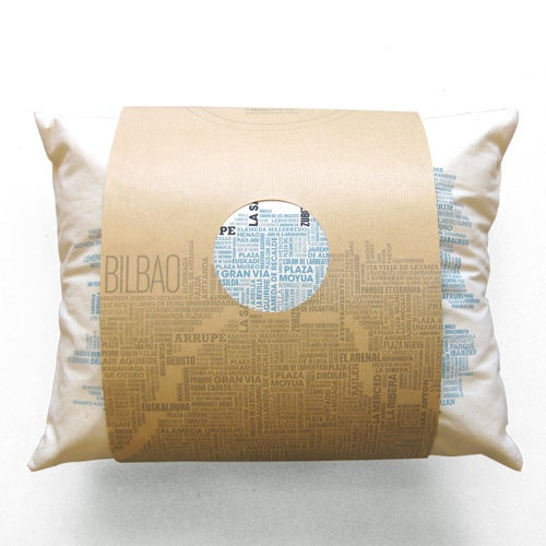 "Image of Cojín ""Bilbao"" / ""Bilbao"" cushion"