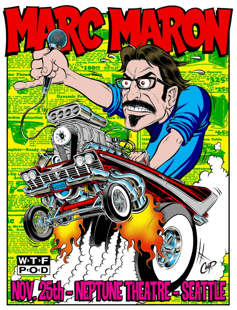 Image of MARC MARON Silkscreen Print