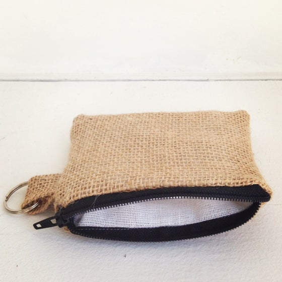 Image of Original Burlap Card Case