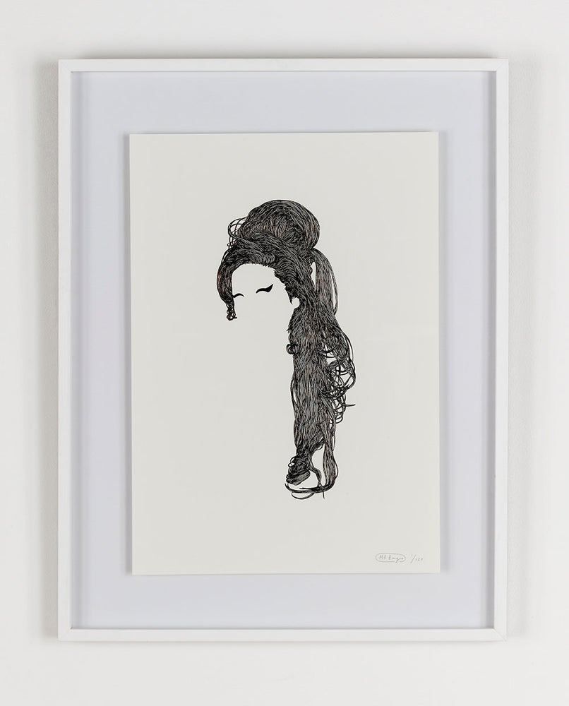 Image of Mr Bingo 'Amy' Foil Edition Print