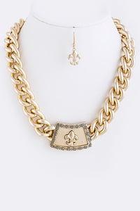 Image of Fleur De Lis Necklace